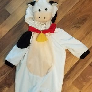 Toddler COW Halloween costume